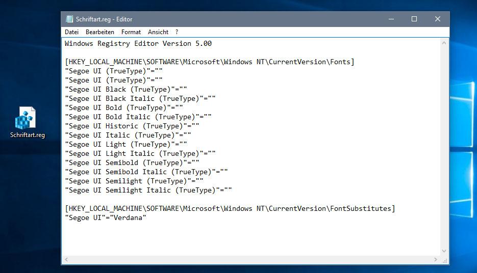 Standard Schriftart ändern Windows 10 7 Und 8 Anleitung