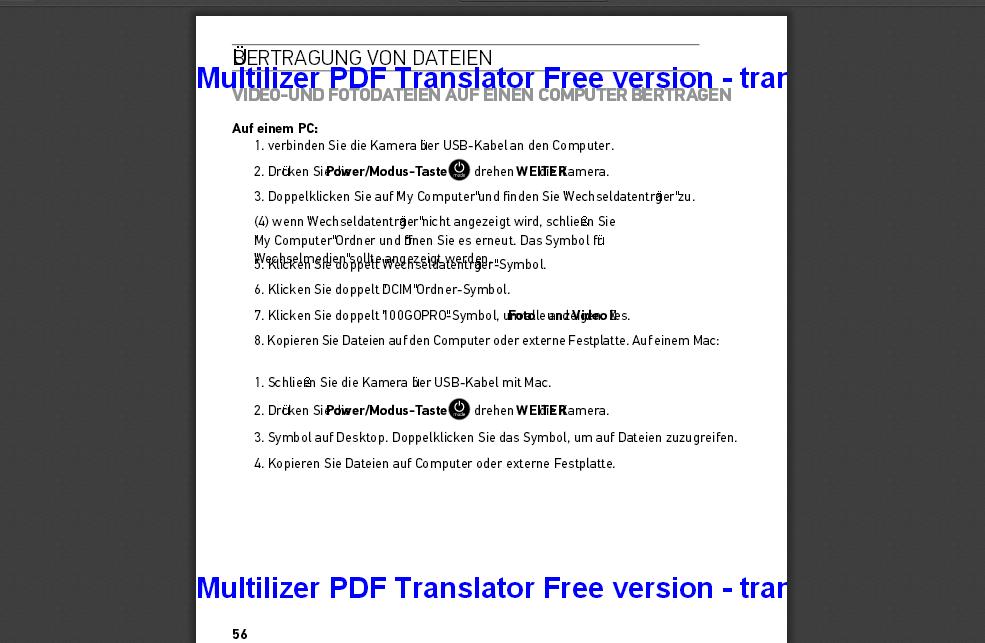 Pdf übersetzen