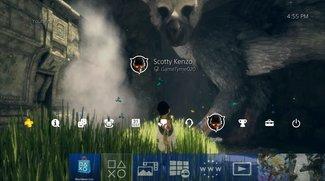 PlayStation 4: Neues Firmware-Update unterstützt externe Festplatten