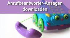Coole Anrufbeantworter-Ansagen zum Download oder selbst sprechen