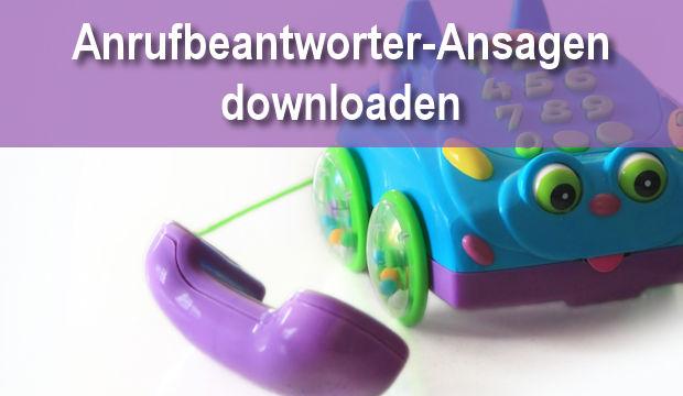 Coole Anrufbeantworter Ansagen Zum Download Oder Selbst Sprechen