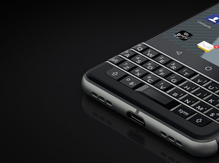BlackBerry-Mercury-Tastatur
