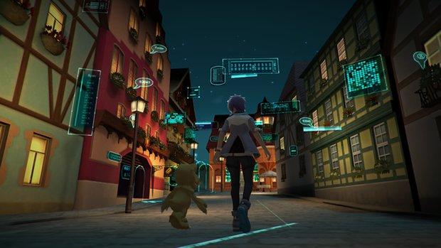 Digimon World - Next Order: Wohlstand der Stadt erhöhen und alle Bewohner finden