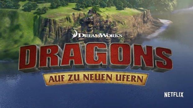 Dragons: Auf zu neuen Ufern - Staffel 4 ab heute auf Netflix! Episodenguide & mehr