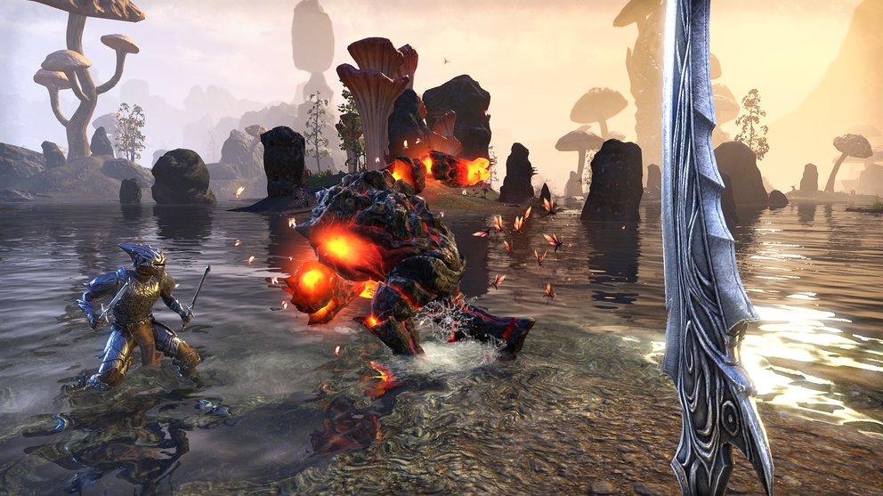 Egal welche Stufe, die Abenteuer in Morrowind stehen jedem Helden von Beginn an zur Verfügung.