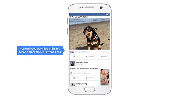 Facebook bestätigt App für Apple TV und kündigt neue Video-Features an