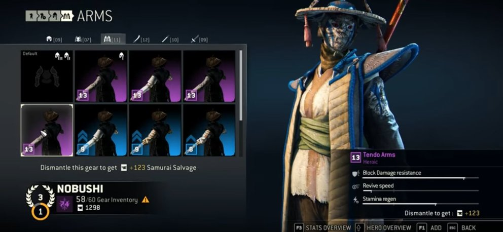 For Honor legendary Nobushi