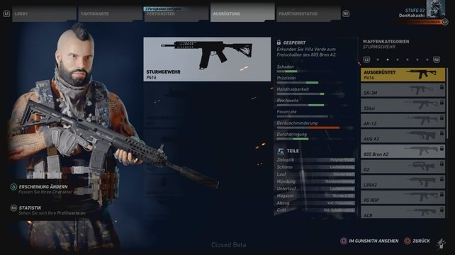 Ghost Recon Wildlands Weapons