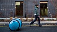 """Piaggio-Roboter folgt seinem """"Herrchen"""" und schleppt die Einkäufe"""