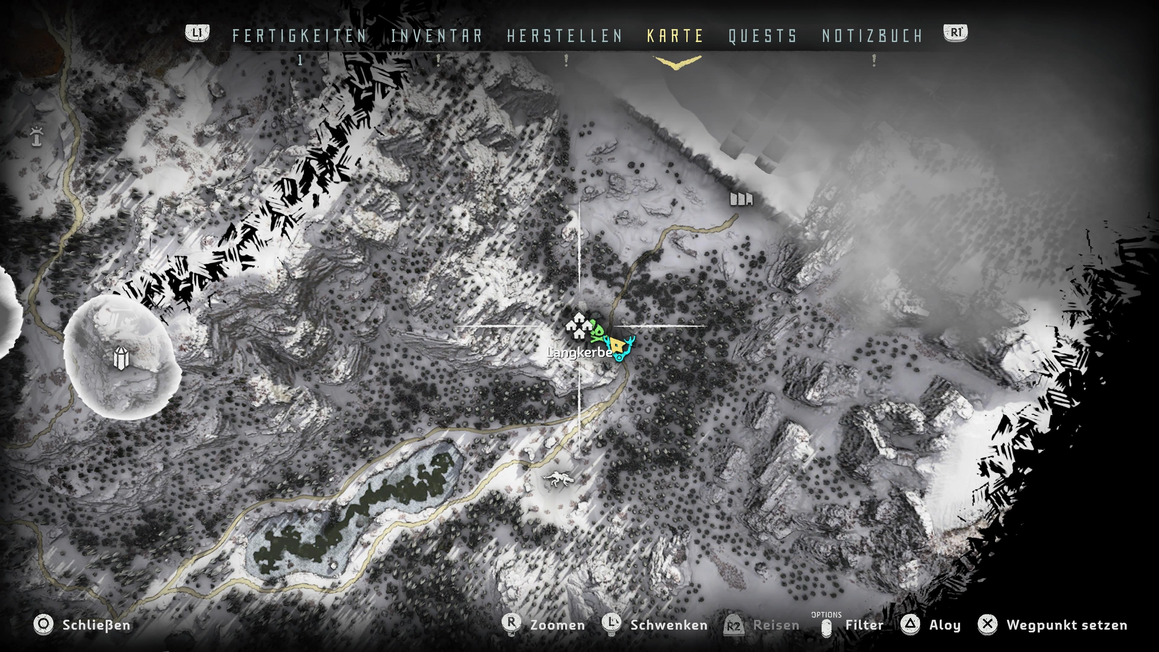 Horizon Zero Dawn Blauglanz Karte.Horizon Zero Dawn Tipps Die Wir Vor Spielstart Gerne Gewusst Hätten