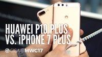 Huawei P10 Plus und iPhone 7 Plus im Vergleich: Die Giganten im Video