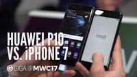 iPhone 7 vs. Huawei P10: Spitzensmartphones im Vergleich