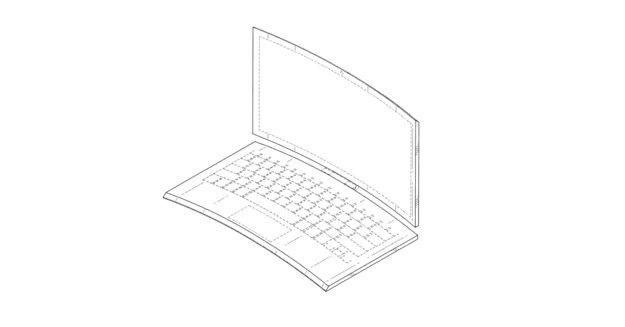Intel plant gebogenes 2-in-1-Laptop mit Tastatur-Dock
