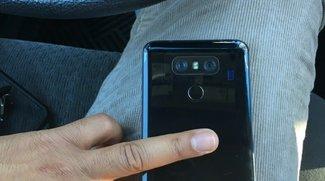 Wie iPhone 7: LG G6 erhält Rückseite in Diamantschwarz