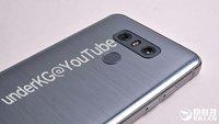 LG G6 in voller Pracht: Neue Fotos enthüllen komplettes Design