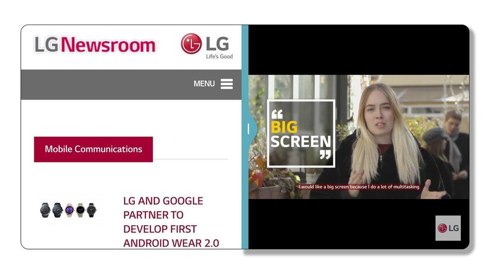 """LG G6: Vorteile der neuen """"UX 6.0""""-Oberfläche im Video vorgestellt"""
