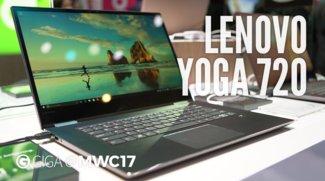 Lenovo Yoga 720 im Hands-On-Video: 4K-Windows-Convertible in zwei Größen