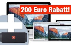 Knaller! 200 € sparen + JBL Flip 3 + 8 % Education-Rabatt bei MacTrade – MacBooks zu Bestpreisen