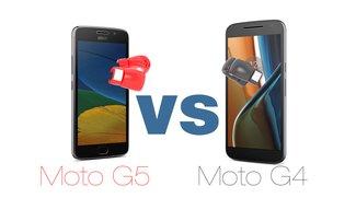 Moto G5 vs Moto G4: Einsteiger-Smartphones im Vergleich