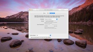 Night Shift in macOS Sierra: Quellcode zeigt Liste unterstützter Macs