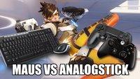 Overwatch: Entwickler gegen Maus und Keyboard an der Konsole