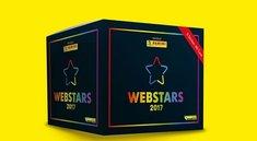 Webstars 2017: Panini-Stickeralbum mit YouTube-Stars
