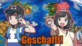 Pokémon Sonne & Mond: Die dritte globale Mission beschert Erfolgserlebnis
