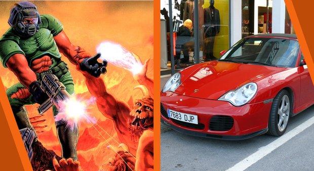 Doom: Das ist kein Sportwagen, das ist ein Controller