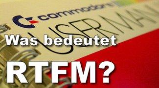Was bedeutet RTFM?