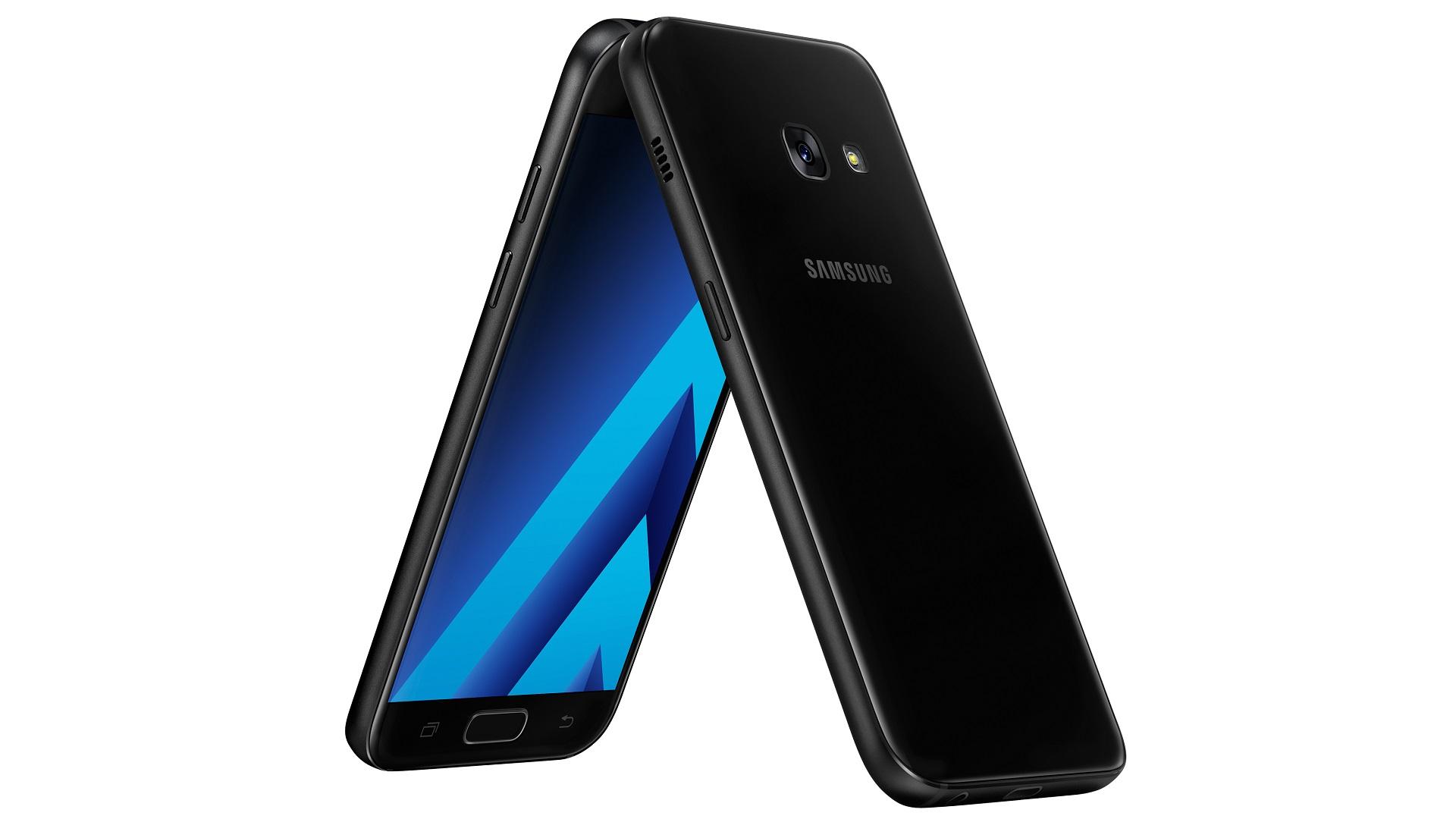 Samsung Galaxy A3 2017 schwarz titel