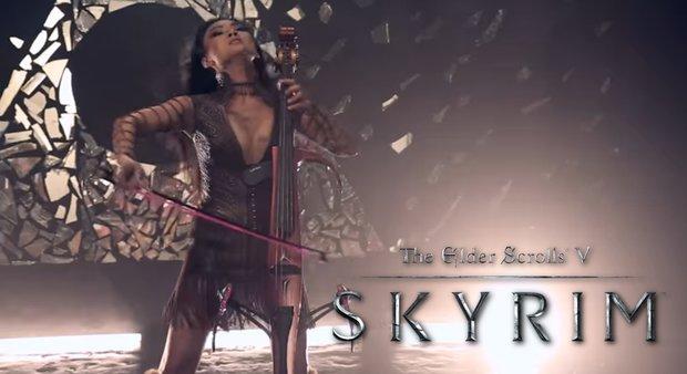 "The Elder Scrolls V - Skyrim: So wunderschön klingt der Song ""Dragonborn"""