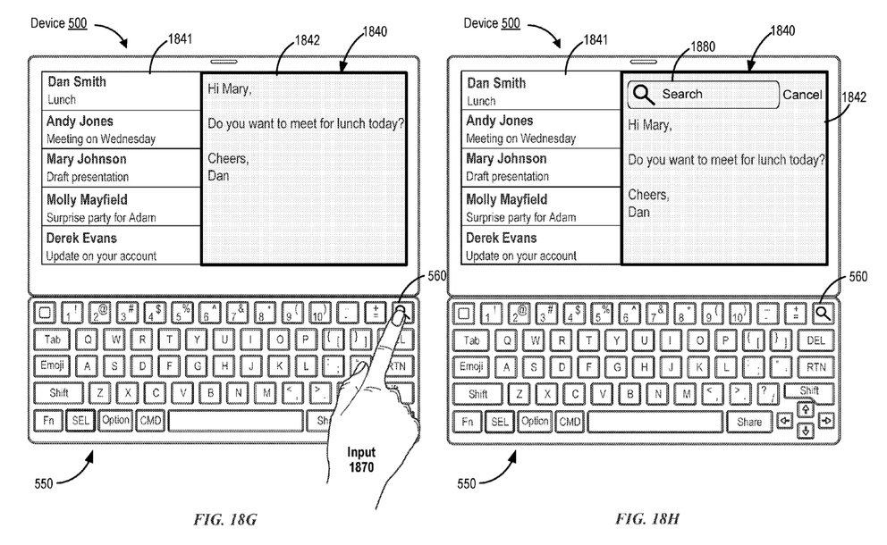 Smart-Keyboard-Patent-Suche
