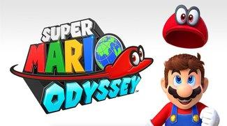 Super Mario Odyssey: Bild zeigt Cappy-Augen auf der Krone von Peach