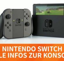 Nintendo Switch: Diese Spiele kommen noch 2017