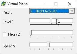 Tiny Virtual Piano