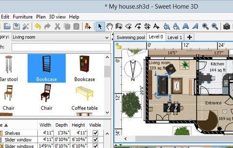 top download der woche 07 2017 sweet home 3d giga. Black Bedroom Furniture Sets. Home Design Ideas