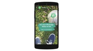 Attacke auf Snapchat: WhatsApp startet Stories-Klon