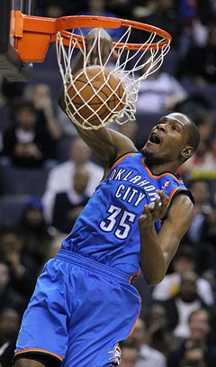 You are the real MVP Kevin Durant Dunk