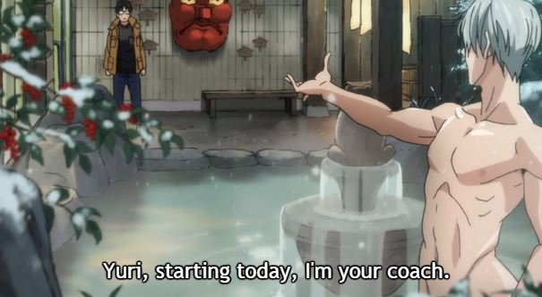Yuri on Ice im Stream