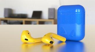 Unternehmen verkauft eingefärbte AirPods –Sticker als günstige Alternative