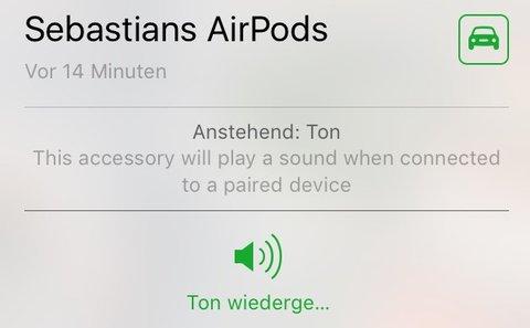 Airpods Finden
