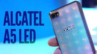 Alcatel A5 LED im Hands-On-Video: Disco-Smartphone mit LED-Rückseite