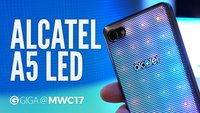 Alcatel A5 LED im Hands-On-Video: Disco-Smartphone mit LED-Rückseite