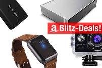 Blitzangebote:<b> Apple-Watch-Lederarmband, Action-Kamera, Qi-Ladegerät u.v.m. heute günstiger</b></b>