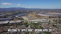 Apple Park: Erstes Drohnenvideo nach Taufe des neuen Apple-Hauptquartiers
