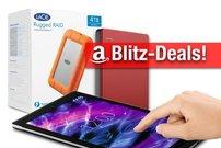 Blitzangebote: Mobile Festplatten & RAID, MEDION LTE-Tablet, Logitech K480 heute günstiger