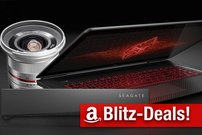 Blitzangebote:<b> OMEN by HP 4K Gaming Notebook, Seagate NAS, 40% auf Walimex-Objektive</b></b>