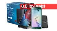 Blitzangebote: Moto G4 Plus, Galaxy S6 Edge, WD NAS, Festplatten Sony Plattenspieler zum Bestpreis