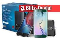 Blitzangebote:<b> Moto G4 Plus, Galaxy S6 Edge, WD NAS, Festplatten Sony Plattenspieler zum Bestpreis</b></b>