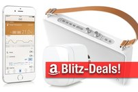 Blitzangebote & CyberSale: Elgato Eve Thermo für Apple HomeKit, AirPlay-Lautsprecher, Festplatten